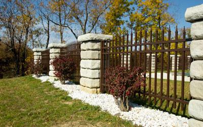 Ornamental fencing options