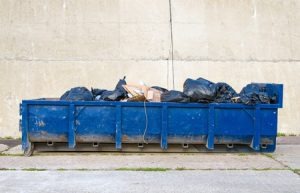 Garbage Dumpster Fence